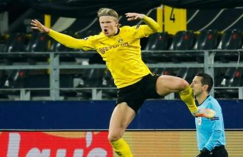Haaland sets new Champions League record after disallowed goal and penalty retake