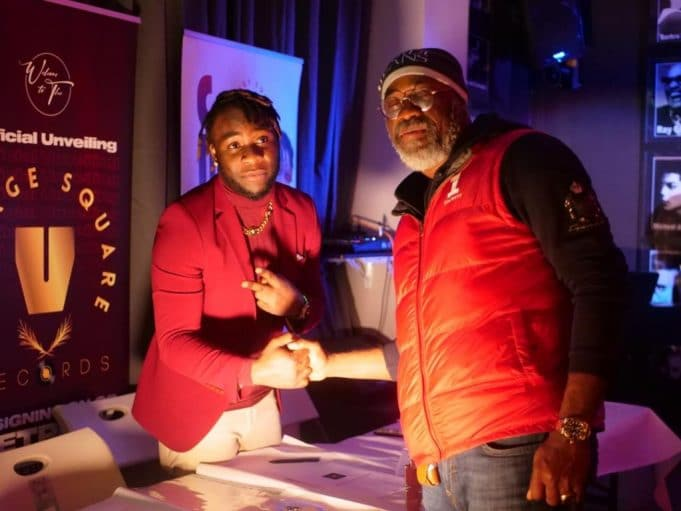 JETPLAY SIGN UP WITH UK-BASED RECORD LABEL VILLAGE SQUARE AS FIRST ARTISTE    PEAKVIBEZ