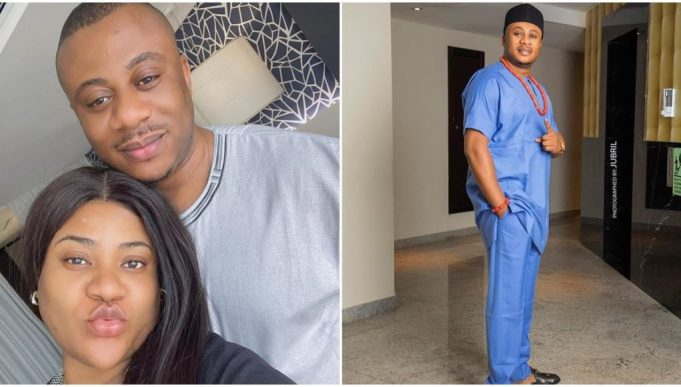 """Actress Nkechi Blessing Celebrates Husband on his birthday – """"Thank you for loving this stubborn girl unconditionally"""" 