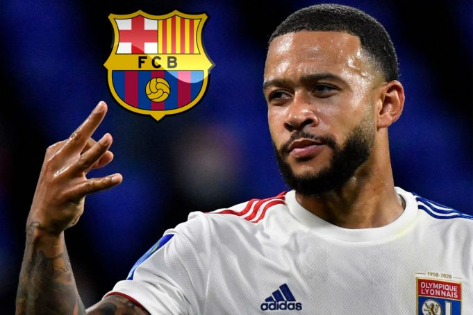 Koeman says Depay deal is nearly done with Netherlands forward's heart set on Barcelona move