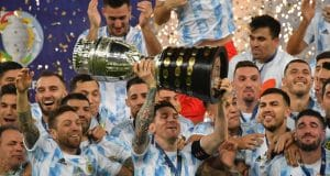 Messi reacts as Argentina beat Brazil to win Copa America    PEAKVIBEZ